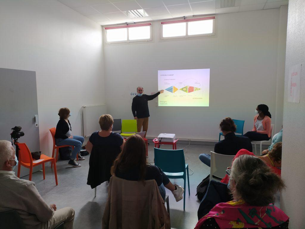 Présentation de Benôit Millet du Design Thinking -Normandie Design Week - Design et Bien-vieillir